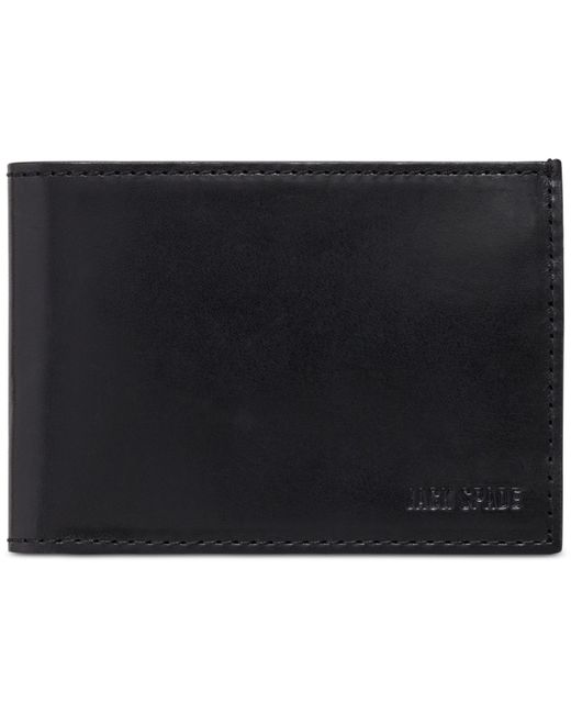 Jack Spade | Black Mitchell Leather Index Wallet for Men | Lyst