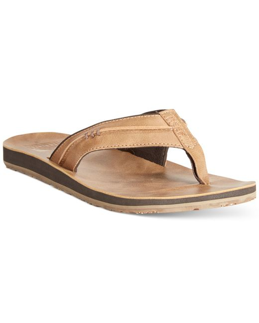 Reef | Brown Men's Marbea Sl Tan Sandals for Men | Lyst