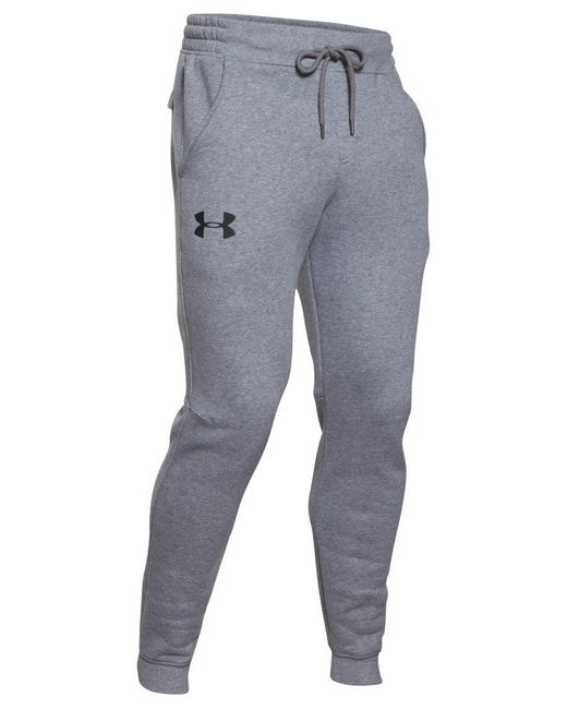 Under Armour | Gray Men's Rival Joggers for Men | Lyst