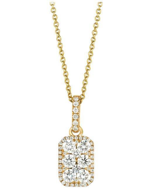 Le Vian | Metallic Diamond Pendant Necklace (5/8 Ct. T.w.) In 14k Gold | Lyst