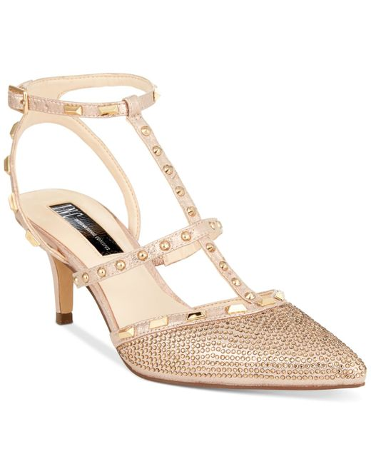 INC International Concepts | Pink Carma Studded Pumps | Lyst