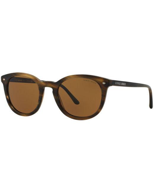 Giorgio Armani   Brown Armani Sunglasses, Ar8060 50p for Men   Lyst