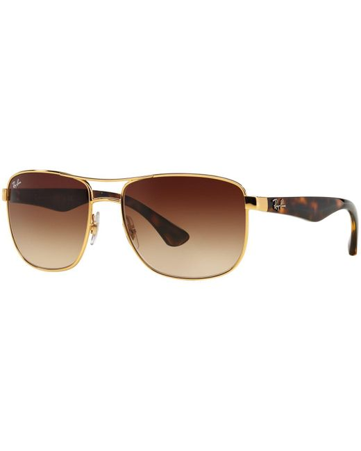 Ray-Ban | Metallic Sunglasses, Rb3533 57 for Men | Lyst