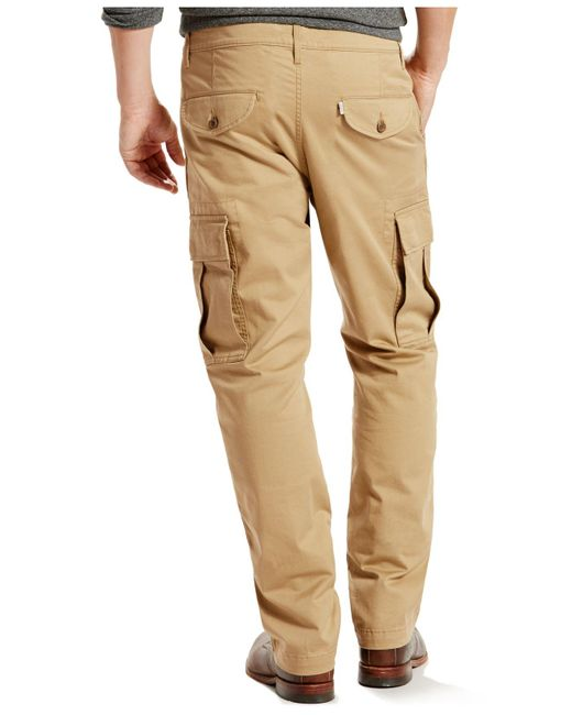 Levi's 541 Regular-fit Athletic Harvest Gold Cargo Pants in ...