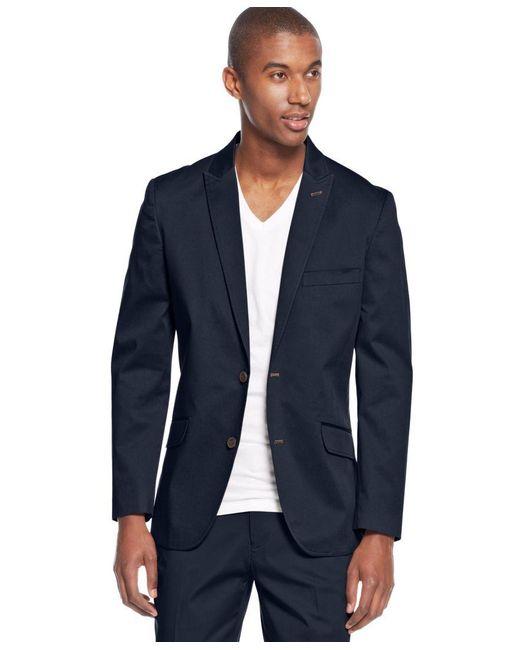 INC International Concepts | Blue Men's Collins Slim-fit Suit Jacket, Only At Macy's for Men | Lyst
