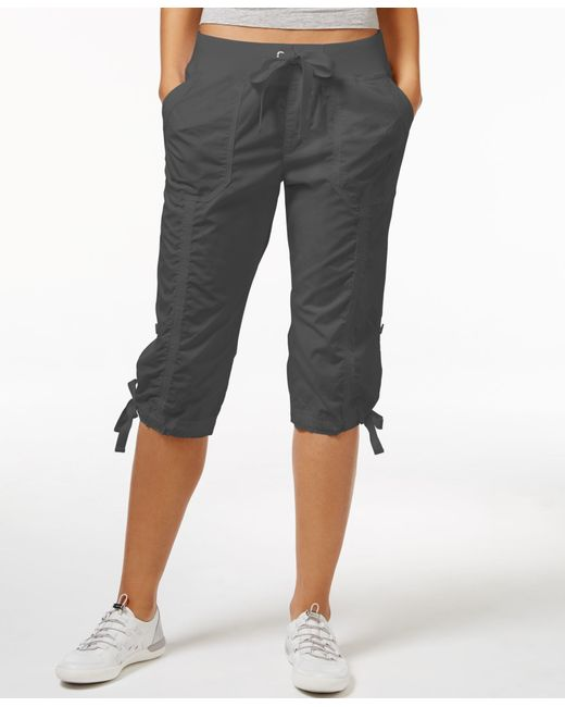 Lastest Calvin Klein Drawstring Cargo Pants In Multicolor Chicory  Lyst