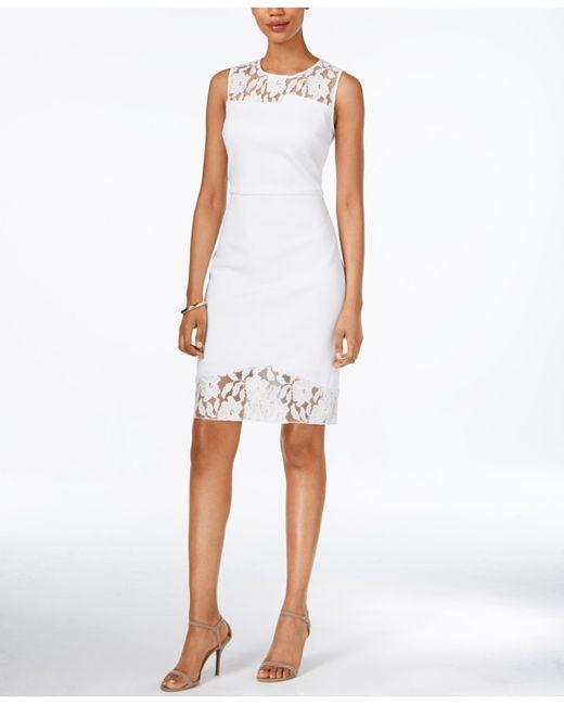 Galerry colorblock sheath dress zipper