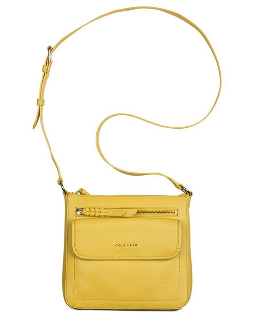 Cole Haan | Yellow Antonia Crossbody | Lyst