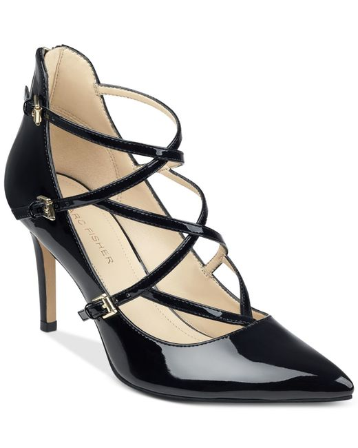 Marc Fisher | Black Danger Strappy Pumps | Lyst