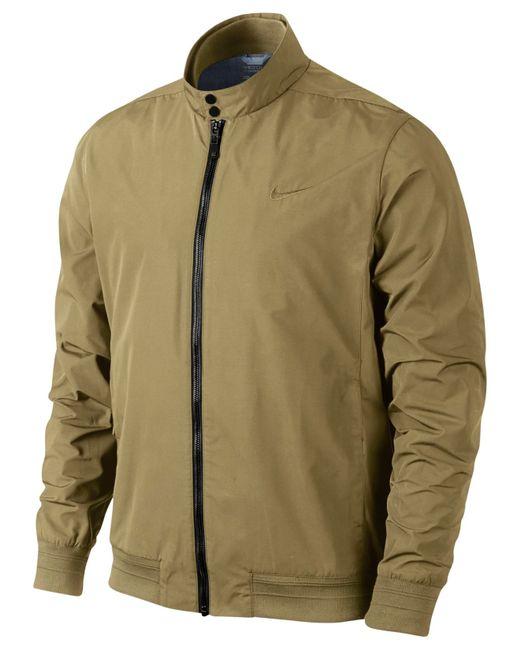Nike Men S Range Harrington Golf Jacket In Beige For Men