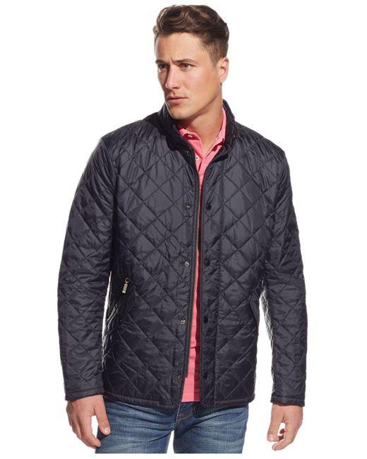 Barbour - Blue Flyweight Chelsea Jacket for Men - Lyst