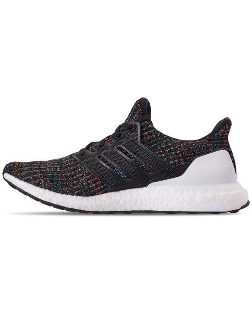 2766113f8 ... Lyst Adidas - Black Men s Ultraboost Knit Low-top Sneakers for Men ...