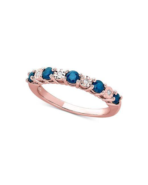 Macy's London Blue Topaz (5/8 Ct. T.w.) & Diamond