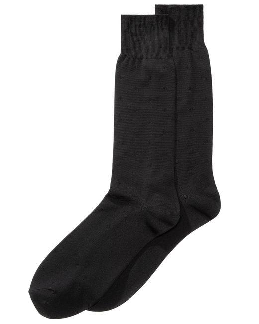 Perry Ellis - Black Men's Microfiber Dress Socks for Men - Lyst
