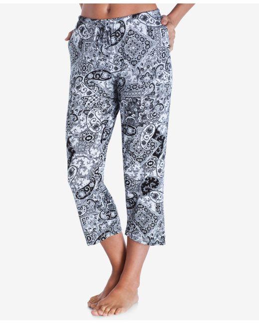 Ellen Tracy - Blue Yours To Love Capri Pajama Pants - Lyst