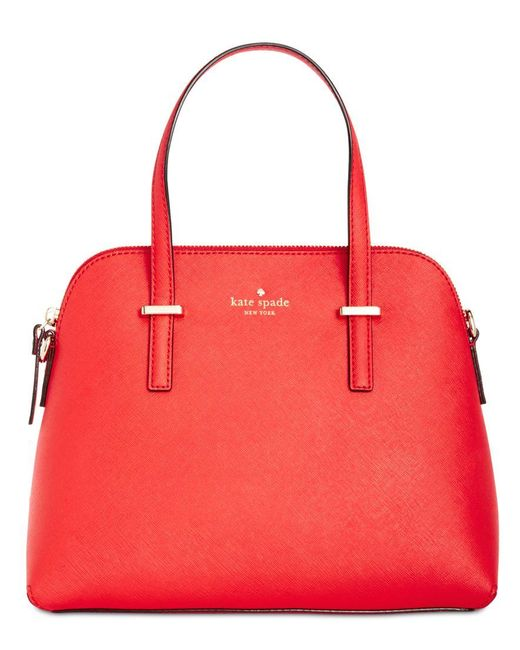 Kate Spade | Red Maise Satchel | Lyst