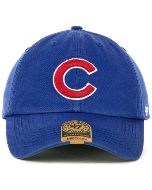 89a5340400121 ... 47 Brand - Green Chicago Cubs Franchise Cap for Men - Lyst ...