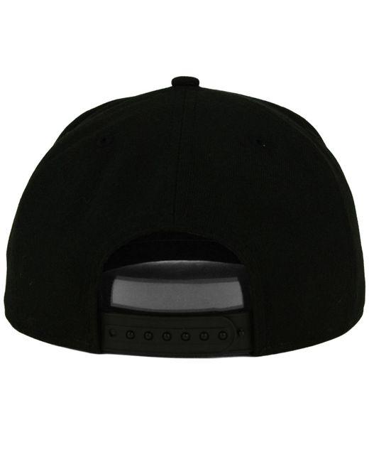 reputable site e5340 9c5b4 ... KTZ - California Golden Bears Black White Fashion 9fifty Snapback Cap  for Men - Lyst ...