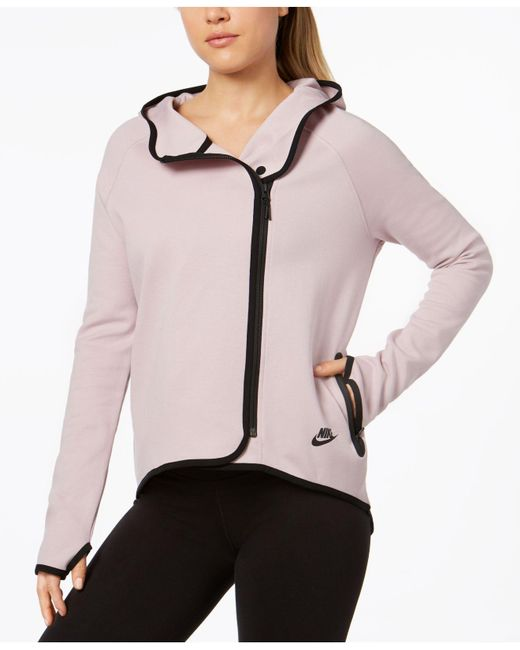 Nike - Pink Sportswear Tech Fleece Cape - Lyst