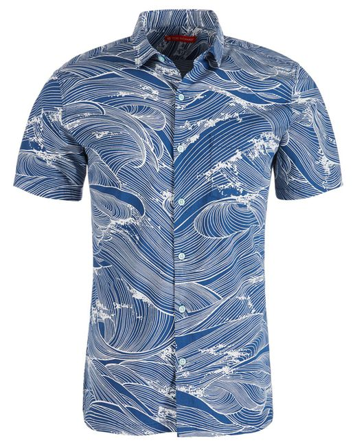 c69764e4df6e3 Tori Richard - Blue Ocean s 11 Shirt for Men - Lyst ...