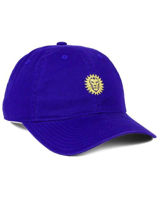 best service 138d0 fdf01 official store adidas purple orlando city sc partial logo dad cap for men  lyst e12bb b91fd