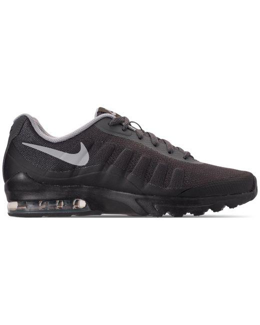 37d7d9e1406544 Nike. Men s Gray Air Max Invigor Print Running Sneakers From Finish Line