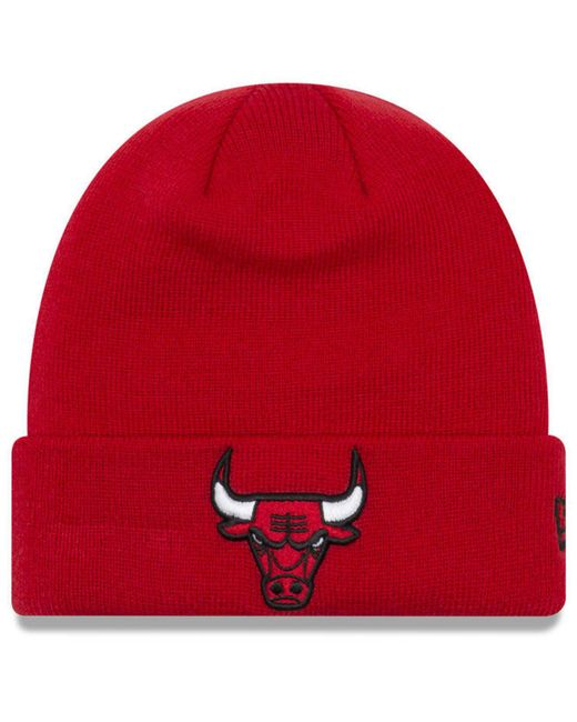 e6e81babd9d3d7 KTZ - Red Breakaway Knit Hat for Men - Lyst ...