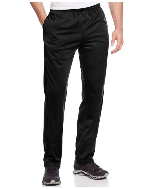 Under Armour - Black Loose-fit Fleece-lined Pants for Men - Lyst