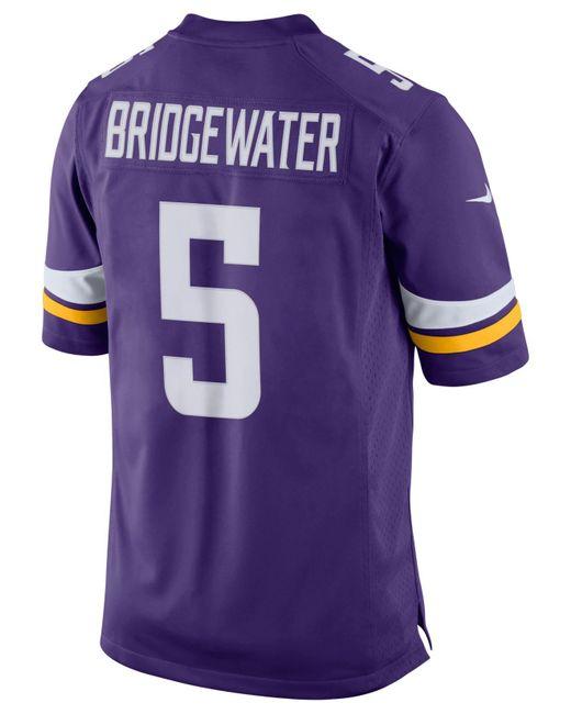 Nike - Purple Men s Teddy Bridgewater Minnesota Vikings Limited Jersey for  Men - Lyst ... f04953f4f