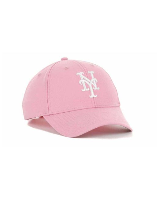 e8508cedc7fef ... norway 47 brand pink new york mets mvp cap lyst d7745 fddd0