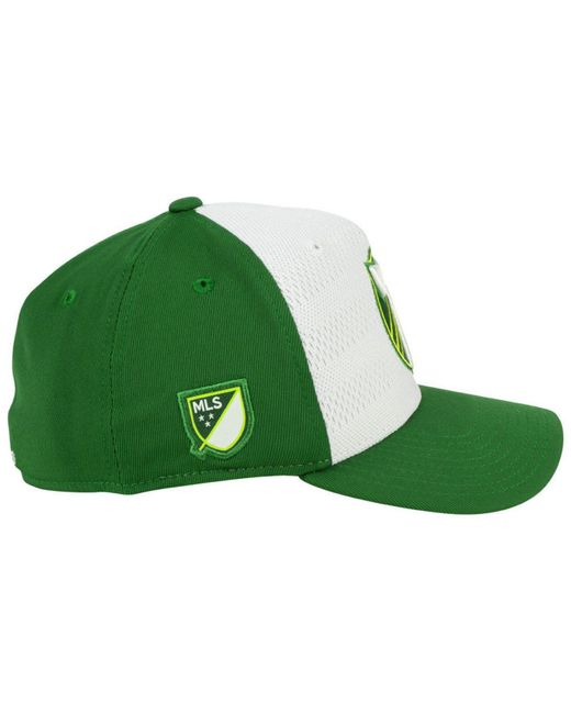 c6f885ab2a3 ... low price adidas green portland timbers authentic flex cap for men lyst  bcd2a 5eee2