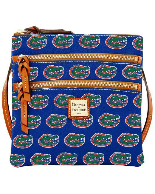 Dooney & Bourke - Blue Florida Gators Triple-zip Crossbody Bag - Lyst
