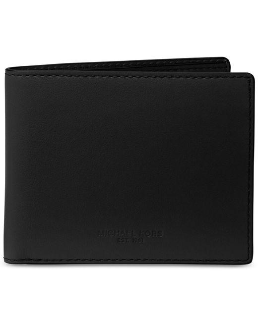 Michael Kors - Black Men's Leather Slim Billfold for Men - Lyst
