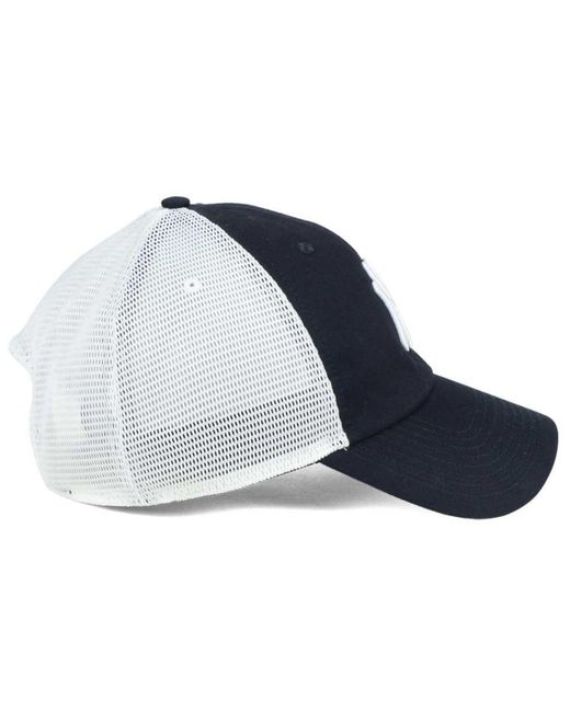 ... Nike - Blue New York Yankees Dri-fit Mesh Swoosh Adjustable Cap for Men  - 6d1a1ad576e9