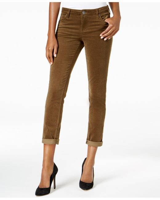 Kut From The Kloth   Multicolor Catherine Corduroy Pants   Lyst