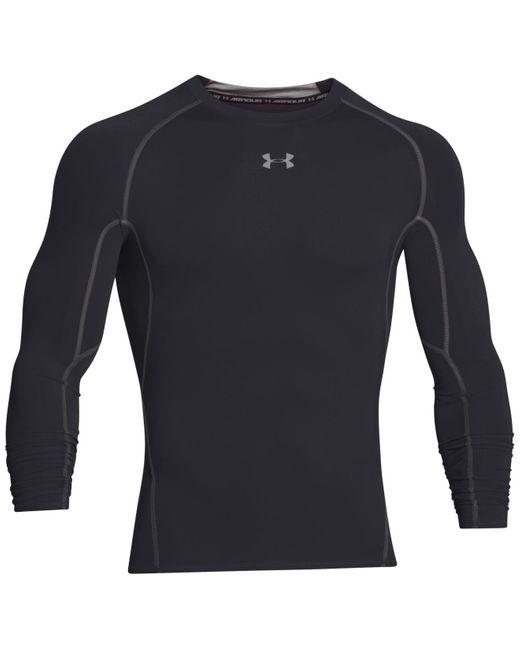 Under Armour | Black Men's Heatgear® Long-sleeve Compression Shirt for Men | Lyst