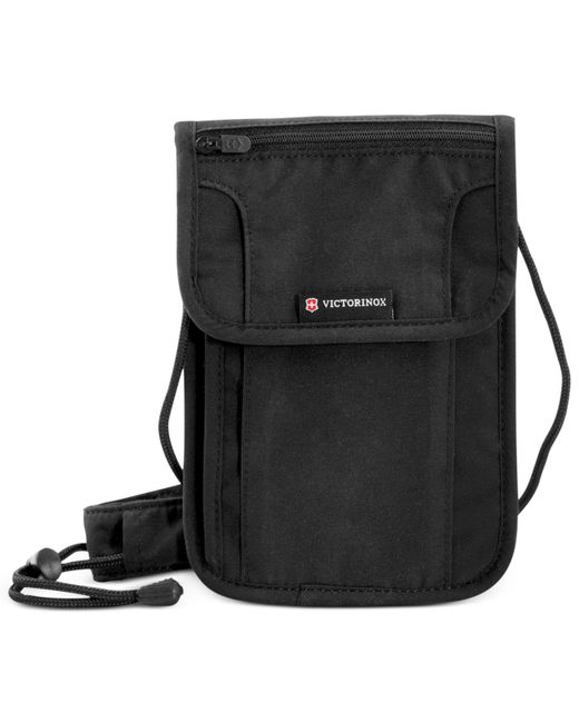 Victorinox - Black Deluxe Concealed Security Pouch With Rfid Protection - Lyst