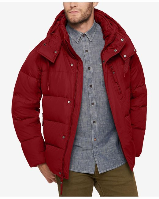 Marc New York | Multicolor Men's Quilted Jacket With Removable Hood And Collar for Men | Lyst