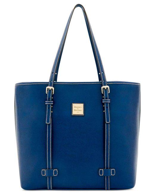 Dooney & Bourke   Blue East/west Medium Shopper   Lyst