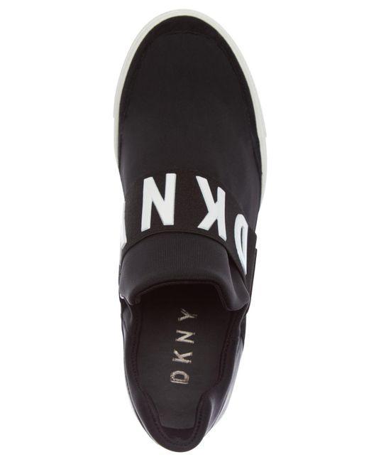 82e2a4d7e549 ... DKNY - Black Cosmos Platform Sneakers