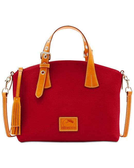 Dooney & Bourke | Red Patterson Trina Small Satchel | Lyst
