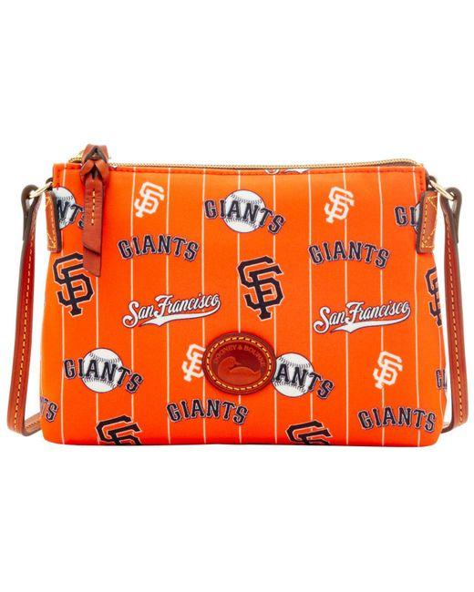 Dooney & Bourke - Orange San Francisco Giants Nylon Crossbody Pouchette - Lyst