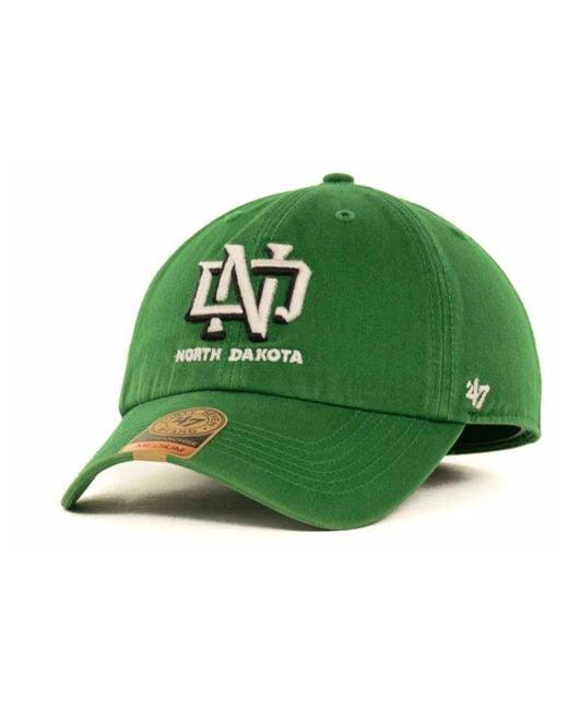 47 Brand   Green North Dakota Fighting Sioux Ncaa '47 Franchise Cap for Men   Lyst