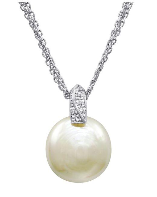 Majorica | White Baroque Organic Man-made Pearl Pendant Necklace | Lyst