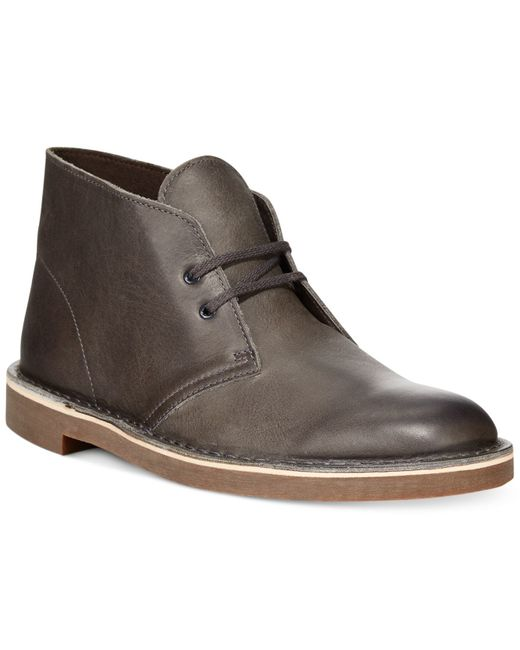 Clarks | Gray Shoes, Bushacre 2 Chukka Boots for Men | Lyst