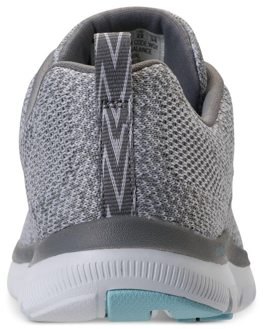 7e2f62a16824e Skechers - Gray High Energy Walking Sneakers From Finish Line - Lyst . ...