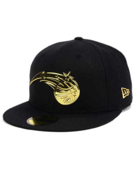 KTZ - Black Orlando Magic Current O'gold 59fifty Cap for Men - Lyst