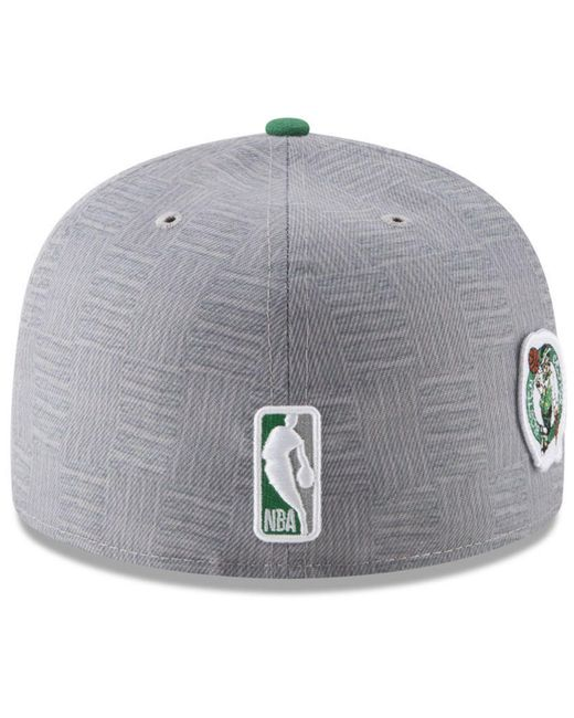 best service b8230 070ab ... KTZ - Multicolor Boston Celtics City On-court 59fifty Fitted Cap for  Men - Lyst ...