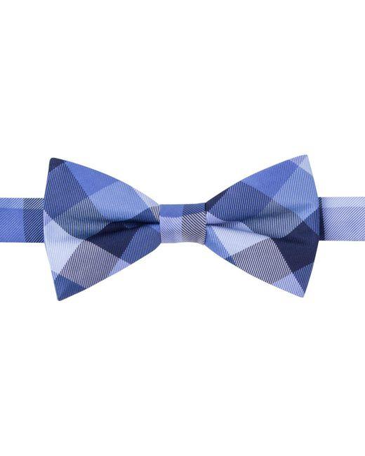 Tommy Hilfiger   Blue Buffalo Tartan Bow Tie for Men   Lyst