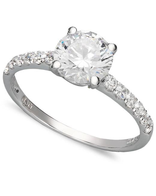 Arabella | 14k White Gold Ring, Swarovski Zirconia Wedding Ring (2-3/4 Ct. T.w.) | Lyst